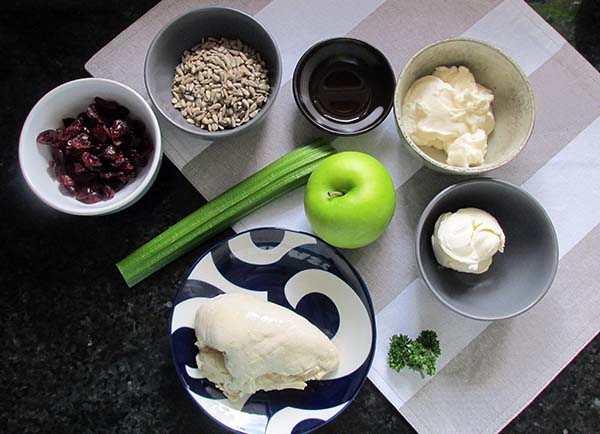 Chicken cranberry salad ingredients