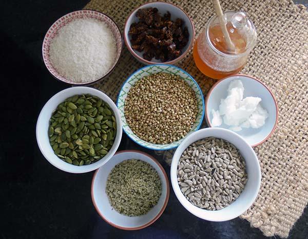 Nut-free breakfast crunch ingredients