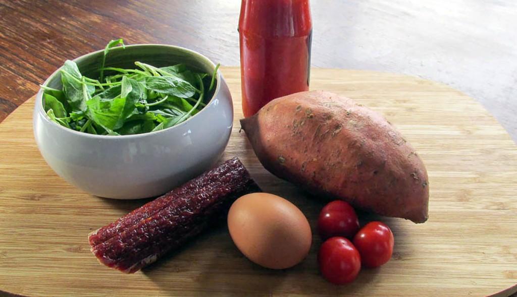 Fried potato ingredients