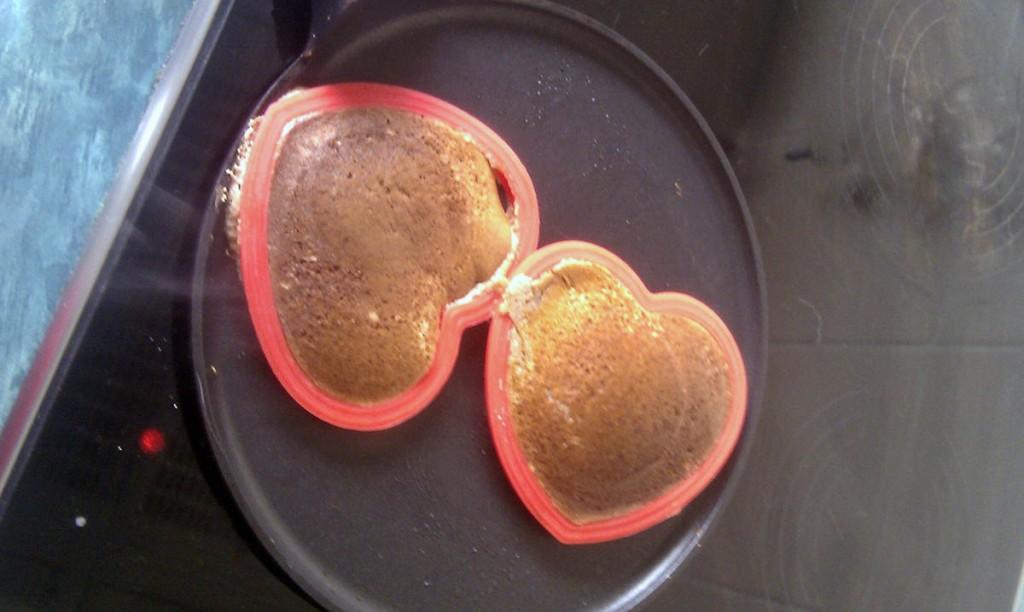 Golden brown pancakes