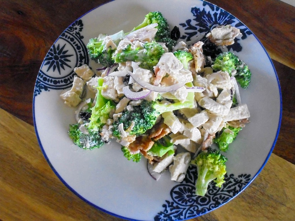 Broccoli chicken salad