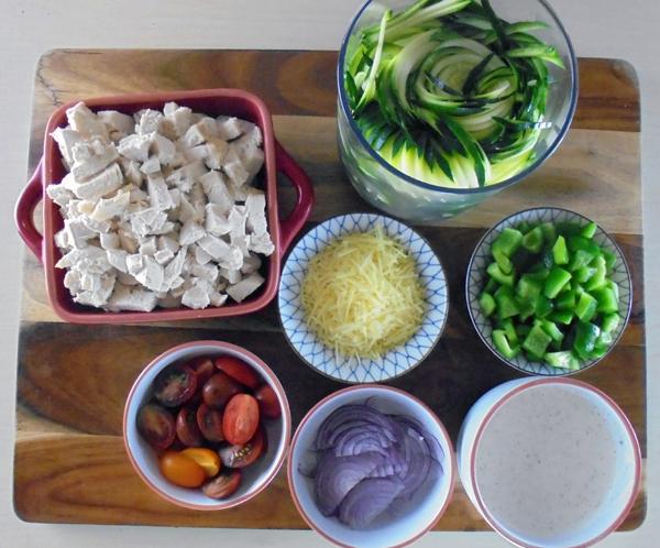 Ranch impasta salad ingredients