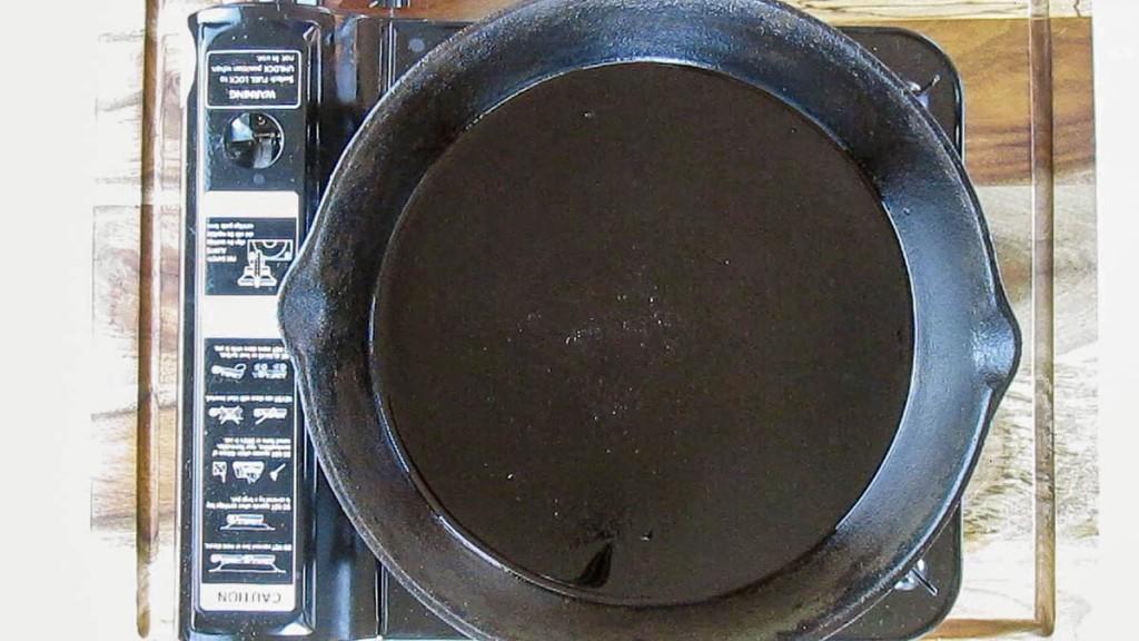 Take a large frying pan