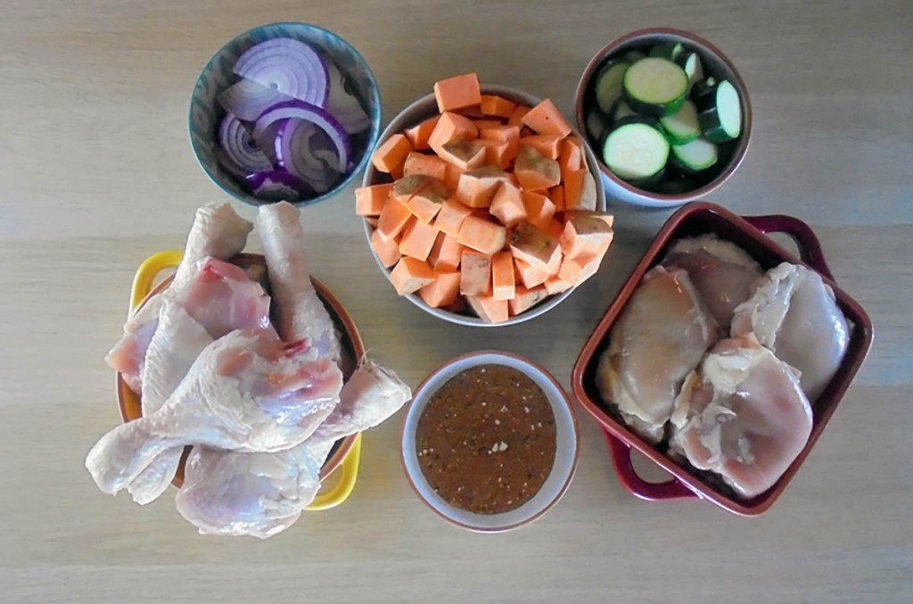 One tray roast chicken ingredients